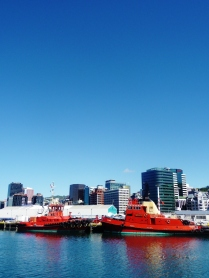 Wellington Port.