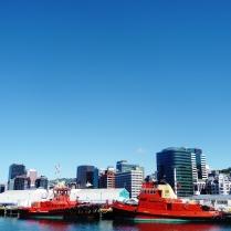 Wellington Port.