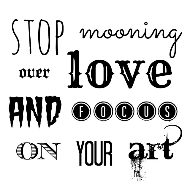 stop mooning